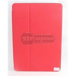 iPad Air 2 чехол-книжка, экокожа, 4 слота для пластиковых карт, красный