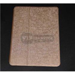 iPad Air 2 чехол-книжка The Core, экокожа, бежевый фактурный