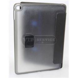 iPad Air 2 чехол-книжка, экокожа, на магнитной заклепке, черный