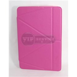 iPad mini 1/2/3 чехол-книжка Momax The core, экокожа, силиконовая основа, розовый