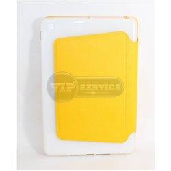 iPad mini 1/2/3 чехол-книжка Momax The core, экокожа, пластиковая основа, желтый
