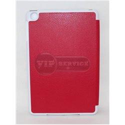 iPad mini 1/2/3 чехол-книжка Momax, экокожа, пластиковая основа, красный