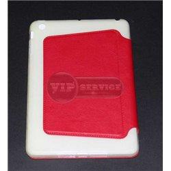 чехол-книжка iPad Mini 1/2/3 The Core красный экокожа