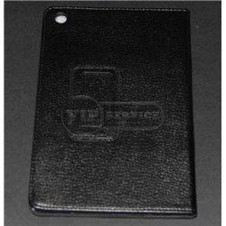 iPad mini 1/2/3 чехол-книжка, кожа, черный