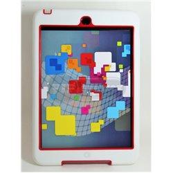 iPad mini 1/2/3 чехол-противоударный, пластик, белый