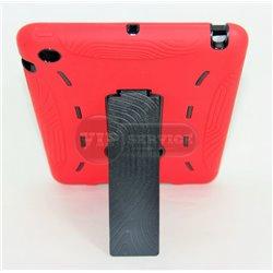 iPad mini 1/2/3 чехол-противоударный, пластик, красный