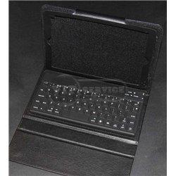 iPad mini 4 чехол-книжка с клавиатурой, кожаный, черный