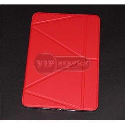 iPad mini 4 чехол-книжка The Core, экокожа, красный