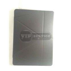 iPad Pro 12.9'' чехол-книжка ONJESS, экокожа, силиконовая основа, черный