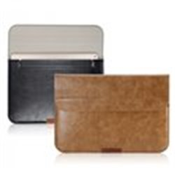 """чехол-конверт iPad Pro 12.9"""" iCarer коричневый кожаный"""
