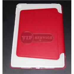 iPad Pro 9,7'' чехол-книжка ONJESS, экокожа, силиконовая основа, красный