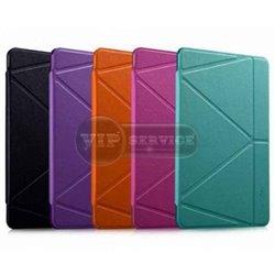 iPad Pro 12,9'' чехол-книжка ONJESS, экокожа, силиконовая основа, фиолетовый