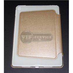 чехол-книжка iPad Pro 12.9'' ONJESS силиконовая основа бежевый экокожа