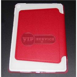 iPad Pro 12,9'' чехол-книжка ONJESS, экокожа, силиконовая основа, красный