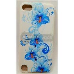 iPod touch 5 чехол-накладка «Китайская роза» пластиковый