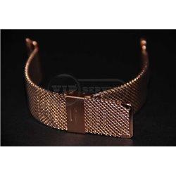 ремешок iWatch 38mm Melano loops средняя плетенка золотой сталь