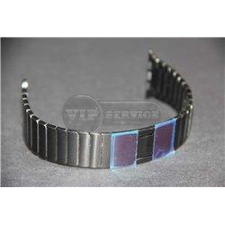 Watch 42mm ремешок из нержавеющей стали, черный