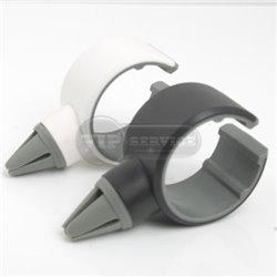 держатель автомобильный на воздуховод (Air vent car holder), белый