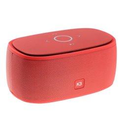 Портативная колонка bluetooth 3D Smart Music K3 копия, красная