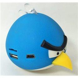 Портативная колонка Angry Birds TY-003, голубая