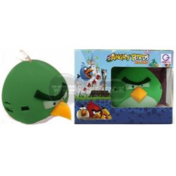 Портативная колонка Angry Birds TY-003, зеленая