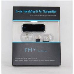 FM трансмиттер(приемник In-car Handsfree FM)