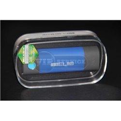 Meliid 5000mAh внешний аккумулятор, овальный,синий