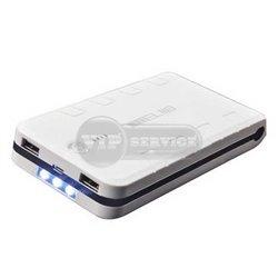 Meliid 15600mAh внешний аккумулятор Dual USB Port, белый