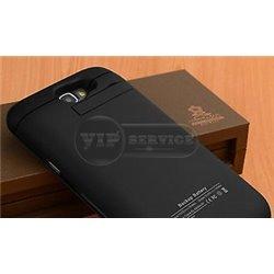 Note 2 чехол-аккумулятор 3200mAh, черный