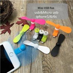 Mini USB Fan мини-вентилятор USB Lightning, черный