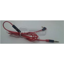 кабель AUX, красный