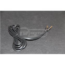 кабель AUX Pisen резиновый 2m super quality, черный