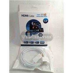 Переходник (адаптер) MHL HDMI на iPhone 4