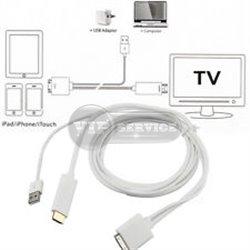 Переходник (адаптер) HDTV на USB-Apple и Lightning A5-01