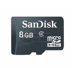Карта памяти microSD SanDisk 8GB