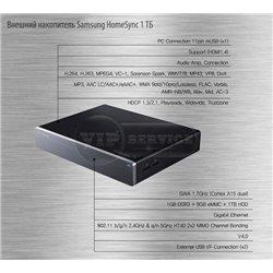 Внешний накопитель Samsung HomeSync 1 ТБ