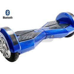 Гироскутер с Bluetooth колонками, 8 дюймов, синий