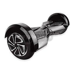 Гироскутер с Bluetooth колонками, 8 дюймов, черный