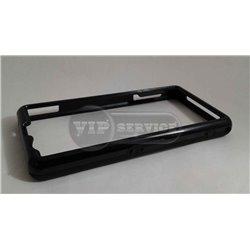 Z1 mini бампер на торцы, силиконовый, черный
