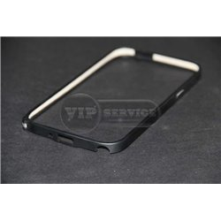 Note 2 бампер на торцы, металлический, черный