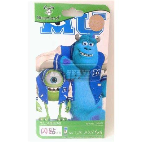 Galaxy S4 виниловая наклейка Newmond MU Monsters №0S-071