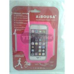 Чехол на руку Aibousa спортивный, розовый