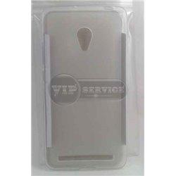 Zenfone 6 чехол-накладка, силиконовый волна, прозрачный