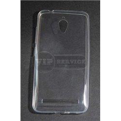 Zenfone GO чехол-накладка, силиконовый, прозрачный