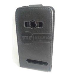 Evo 4G чехол-блокнот, кожаный, черный