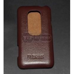 Evo 3D чехол-блокнот iCarer, кожа, коричневый