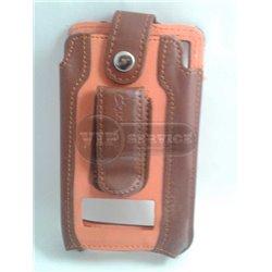 Evo 4G чехол-футляр, кожаный, коричневый