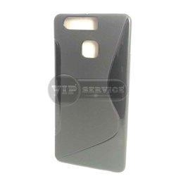 чехол-накладка Huawei P9 Ascend Wave черный силиконовый