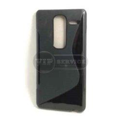 Class H740 чехол-накладка, силиконовый волна, черный