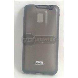 Optimus 2X P990 чехол-накладка Eyon, силикон+пластик, черный